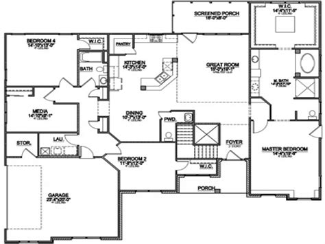 most popular floor plans 2014 popular ranch floor plans