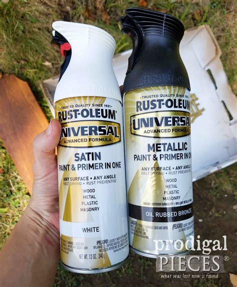 spray paint friend thrifted farmhouse decor get the look for less