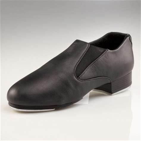 capezio riff slip on tap shoes black