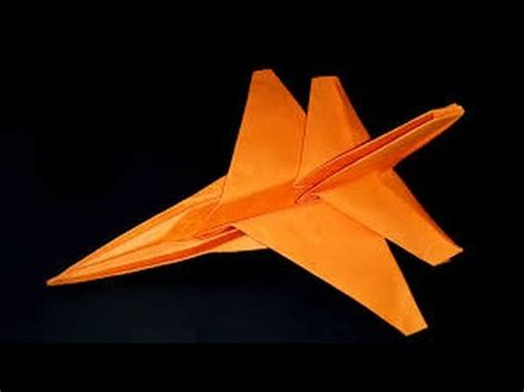 Origami Jet Fighter - origami paper how to make origami jet fighter origami