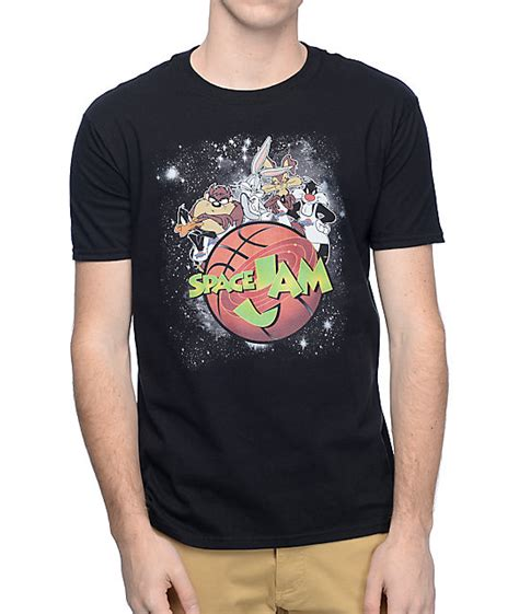 T Shirt Pdp space jam galactic black t shirt at zumiez pdp
