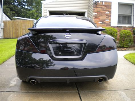 nissan altima blacked out pin 2008 nissan altima coupe blacked out on