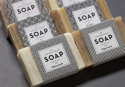Handmade Company - fields soap company one darnley road branding
