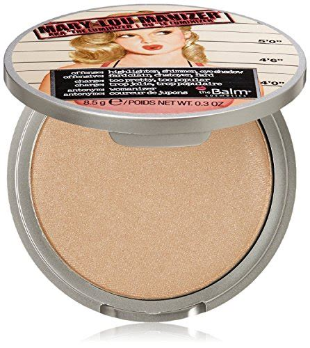 The Balm Manizer Highlighter the balm lou manizer aka the luminizer shimmer