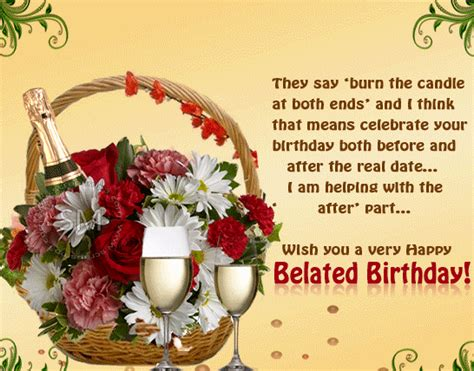 Belated Happy Birthday Wishes For A Friend Happy Birthday Wishes For Best Friend Quotes With