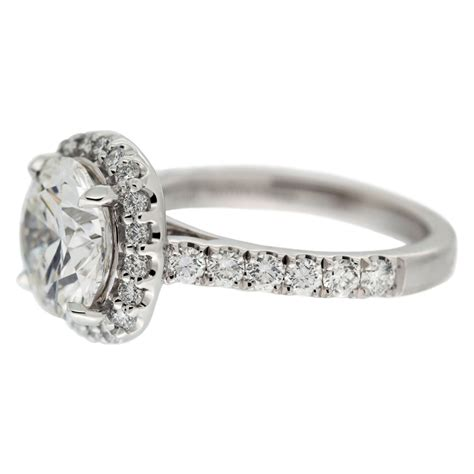 with halo engagement ring mouradian custom