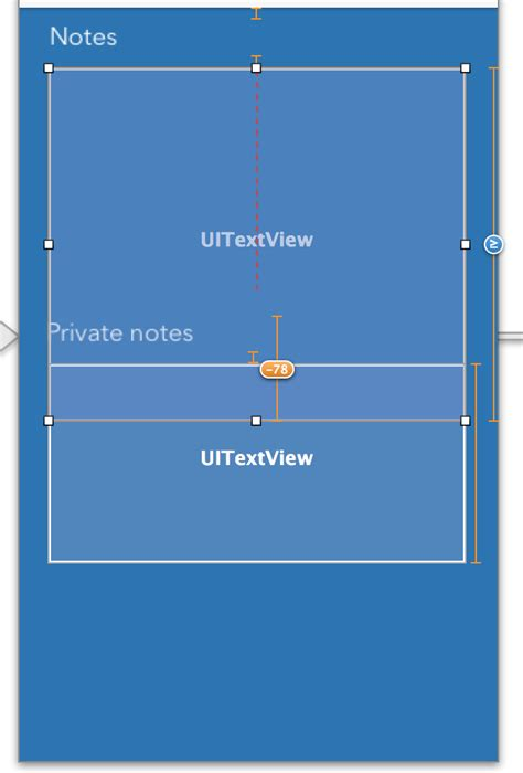 layout constraints height ios auto layout constraints vertical spacing with one