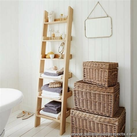 Wood Bathroom Shelf by Pallet Projects For Bathroom Pallet Wood Projects