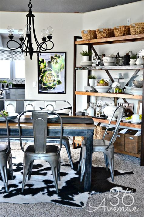 industrial home decor ideas dining room decor industrial design the 36th avenue