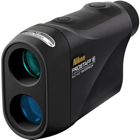 nikon prostaff 3 6x21 laser rangefinder black 8390 b h photo