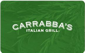 Carrabba S Gift Card Promotion - carrabba s gift cards review buy discounted promotional offers gift cards no fee