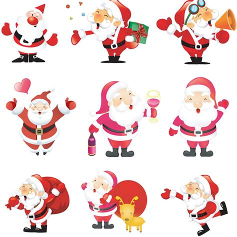 Photoshop Card Templates Place Faces Into Reindeer by Santa Illustrations Vector Vector Graphics