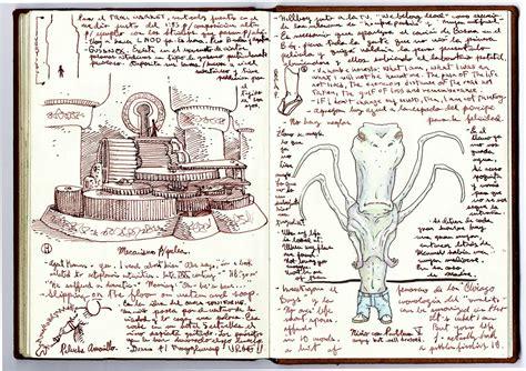 sketch book in pdf guillermo toro cabinet of curiosities stylezeitgeist