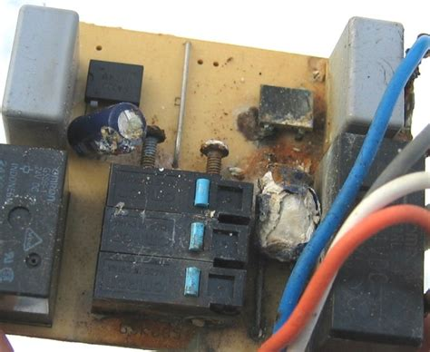 explosion of capacitor sunvic actuators water ingress causing explosions