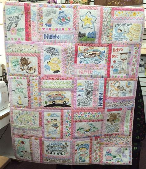 Quilt For Nursery by Julie Made This Adorable Quilt For Granddaughter Using