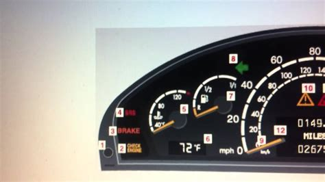 why is airbag light on mercedes s class w220 srs airbag warning light how to