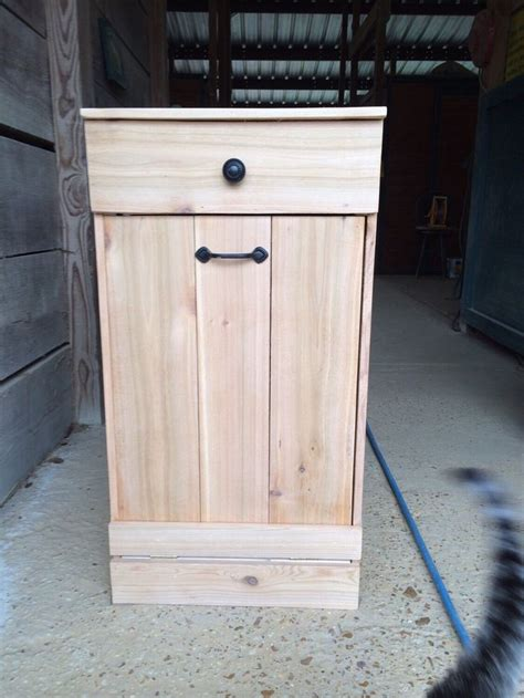 tilt out trash bin storage cabinet tilt out trash bin tilt out can cedar trash can tilt