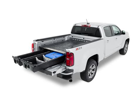 truck bed drawers decked decked gmc canyon chevy colorado 2015 truck bed