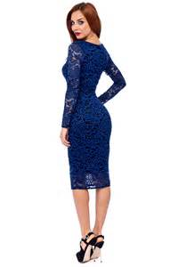 midi lace blue dress 2016 2017 fashion trend gossip style