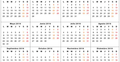Calendario Octubre 2017 Chile Feriados En Chile 2016 Feriados Y Asuetos 2017