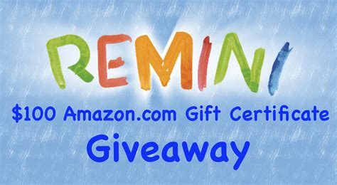 Lucky Shops Giveaway 2 by 100 Giveaway To One Lucky New User Remini App For