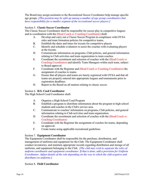 club bylaws template doc 696900 corporate bylaws template bylaws template