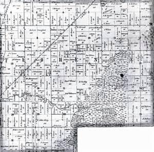 Michigan Plat Maps by Plat Map Of Florence Mi 1858