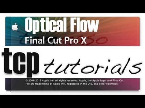 final cut pro slow motion come usare optical flow con final cut pro x per slow