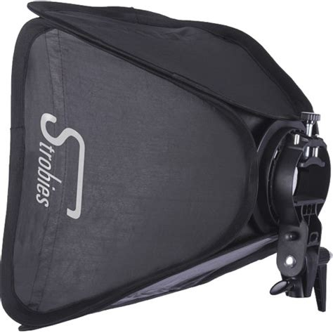 Speedlight Softbox interfit strobies s type speedlight bracket and softbox str179