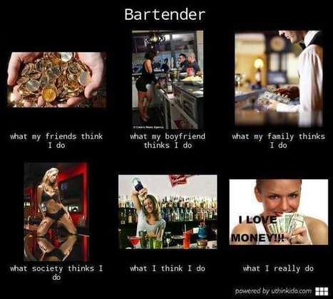 Bartender Meme - u think i do scoop it
