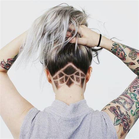 ladies undercut pattern beautiful undercut pattern for women undercuts haircuts