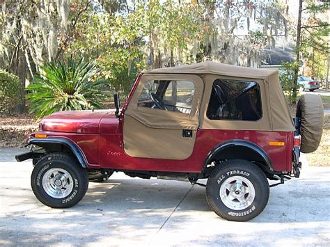 1981 Cj7 Jeep For Sale 1981 Jeep Cj7 For Sale Summerville South Carolina
