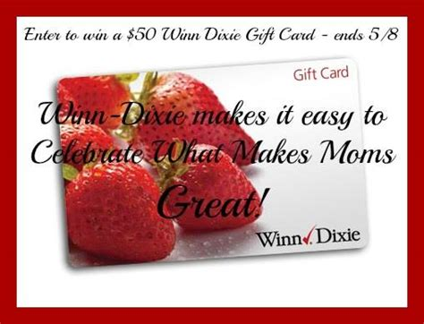 Winn Dixie Gift Cards - winn dixie gift card giveaway 50 value