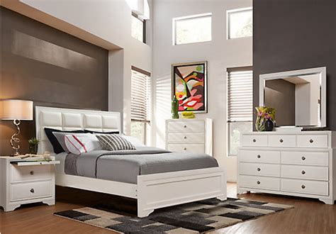 miami 5 pc bedroom set white bedroom sets esf miami set 0 belcourt white 5 pc queen upholstered bedroom contemporary