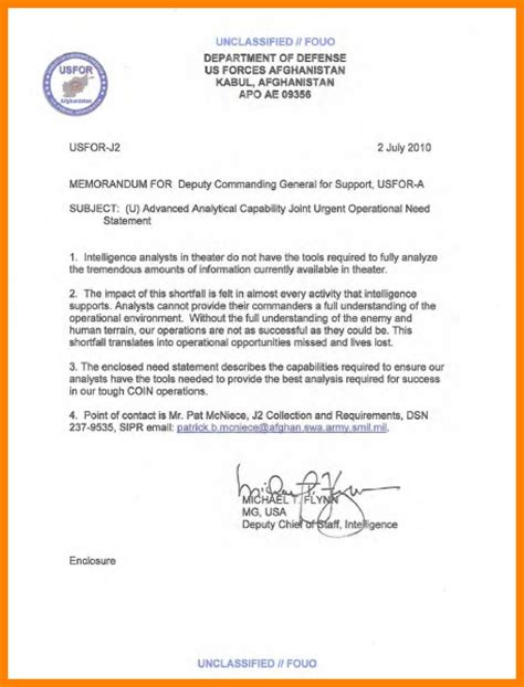 Exle Letter For Community Service army statement of service letter exle 28 images