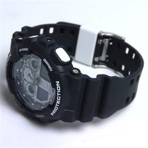 Casio G Shock Ga 100bw zegarek męski casio g shock falcon ga 100bw 1aer alletime