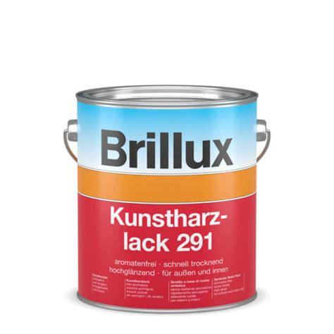 Holz Lackieren Kunstharzlack by Brillux Kunstharzlack 291 Wei 223 0095 Shop F 252 R Lacke