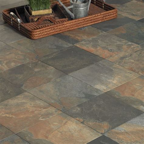 slate look ceramic tile rustic lodge by interceramic slate tile qualityflooring4less