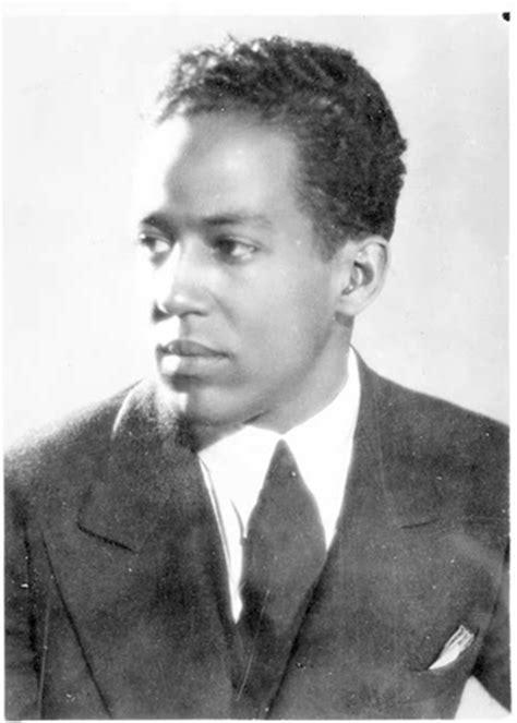 American Writer and Poet Langston Hughes