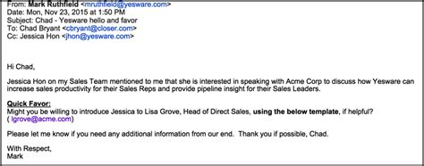 self introduction email template how to write an introduction email that wins you an in