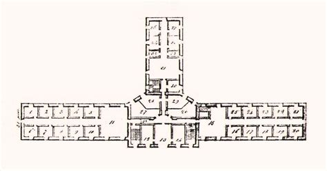 prison floor plan file prison montreal plan 1838 jpg wikimedia commons