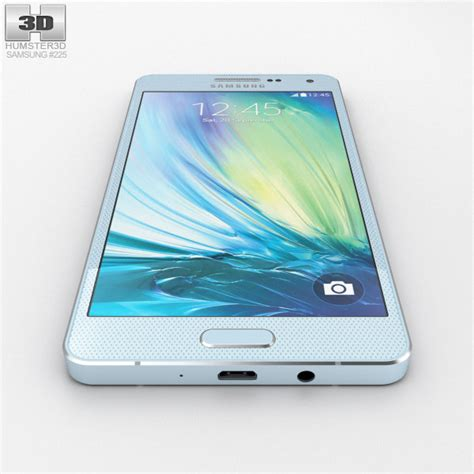 Samsung Galaxy A5 Lite Samsung Galaxy A5 Light Blue 3d Model Hum3d