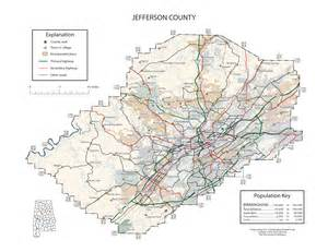 maps of jefferson county