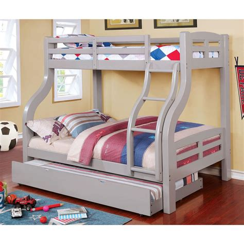 Bunk Bed Outlet Solpine Bunk Bed Furniture Of America Cm Bk618gy 6