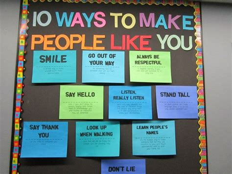 8 Ways To Make Like You by 1000 Images About Bulletin Boards Self Esteem On