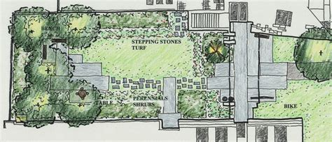 home garden design plan com woodland clearing landscaping plan
