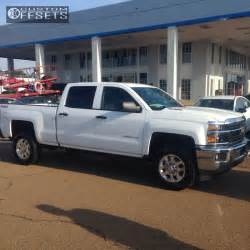 wheel offset 2015 chevrolet silverado 2500 hd flush stock