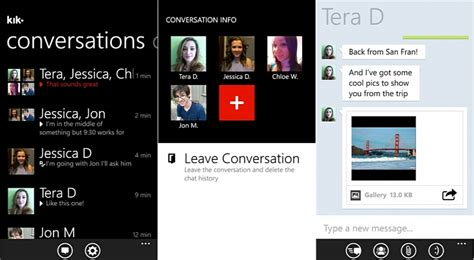 How To Find On Kik Messenger Kik Messenger For Windows Phone 8 Lumia Devices Appears Softpedia