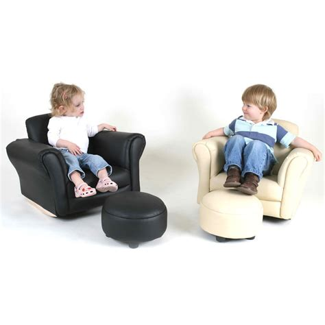 couch baby valco baby kiddy sofa kids couch seat w ottoman foot rest
