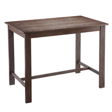 counter height table wildon home 174 conway counter height dining table reviews